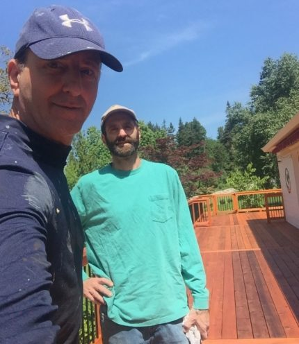 Image of the deck brothers in Butteville OR